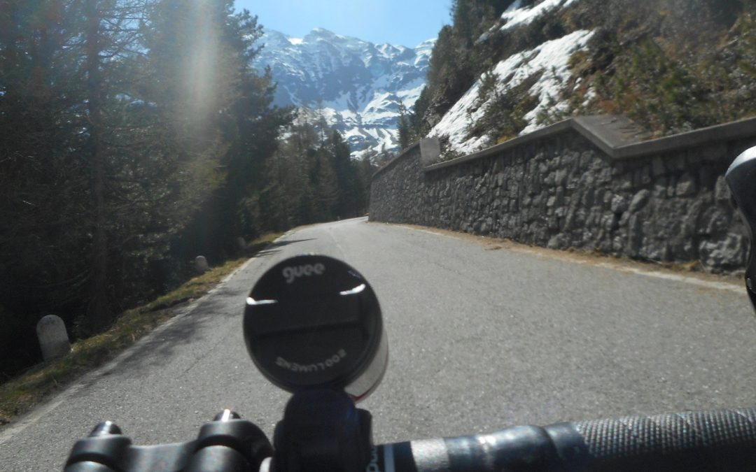 Learning outcomes for practitioners from climbing Passo Dello Stelvio